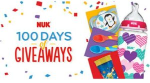 WIN Some Awesome Prizes In The NUK  100 Days Of Giveaways (Enter Daily Thru 7/19)