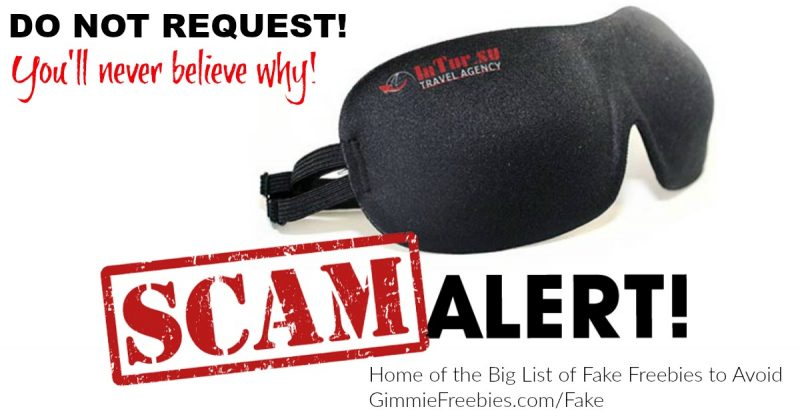 STOP! Don't Request That Free Sleep Mask! You Won't Believe Why!