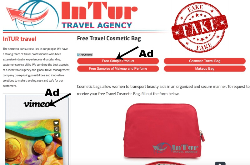 InTur Travel Agency Freebies are ALL a Scam! | GimmieFreebies