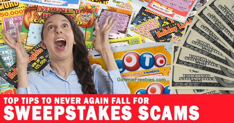 Never Again Fall for Sweepstakes Scams